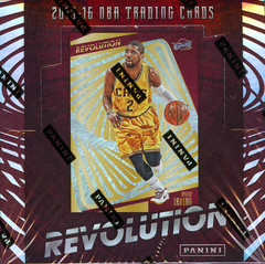 2015-16 Panini Revolution NBA Basketball Hobby Box