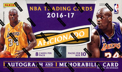 2016-17 Panini Aficionado NBA Basketball Hobby Box
