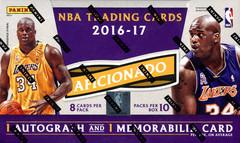 2016-17 Panini Aficionado NBA Basketball Hobby Box