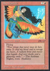 Bird Maiden (V2: LIGHT GRAY COLORLESS MANA SYMBOL)
