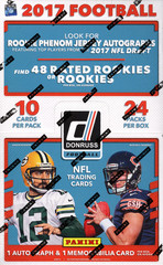2017 Panini Donruss NFL Football Hobby Box