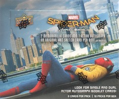 2017 Upper Deck Marvel Spider-Man Homecoming Trading Cards Hobby Box
