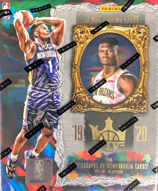 2019-20 Panini Court Kings NBA Basketball Hobby Box