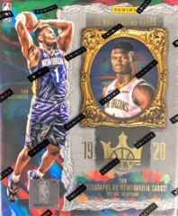2019-20 Panini Court Kings NBA Basketball Hobby Box