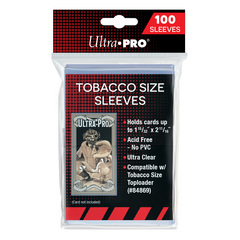 Ultra Pro Tobacco Size Sleeves - 100ct