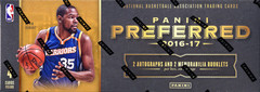 2016-17 Panini Preferred NBA Basketball Hobby Box