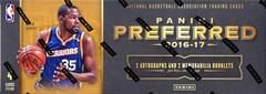 2016-17 Panini Preferred NBA Basketball Hobby Box