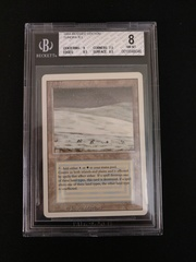 Tundra BGS 8 NM-MT - 3rd Edition / Revised MTG Magic Graded Card
