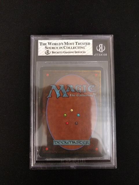 Tundra BGS 8 NM-MT 3rd Edition / Revised MTG Magic Graded Card