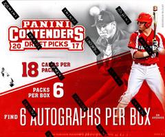 2017 Panini Contenders Draft Picks Baseball Hobby Box