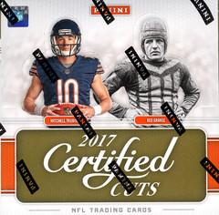 2017 Panini Donruss Certified Cuts NFL Football Hobby Box
