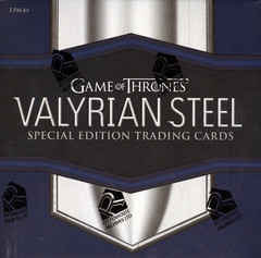2017 Rittenhouse Game of Thrones Valyrian Steel Hobby Box