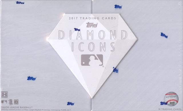 2017 Topps Diamond Icons MLB Baseball Hobby Box