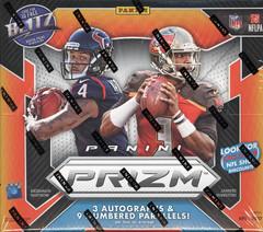 2017 Panini Prizm NFL Football Hobby Box