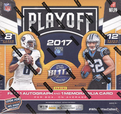 2017 Panini Playoff NFL Football Hobby Box