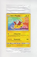 Ash's Pikachu - SM108 Movie Promo SEALED IN PACK UNOPENED