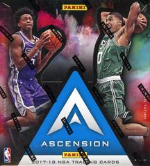 2017-18 Panini Ascension NBA Basketball Hobby Box