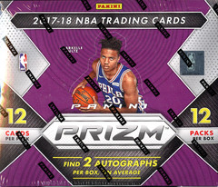 2017-18 Panini Prizm NBA Basketball Hobby Box