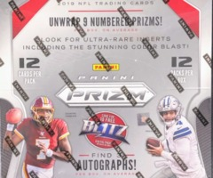 2019 Panini Prizm NFL Football Hobby Box