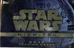 2017 Topps Star Wars High Tek Trading Cards Hobby Box