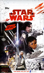 2017 Topps Star Wars The Last Jedi Trading Cards Hobby Box