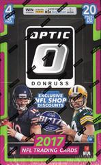 2017 Panini Donruss Optic NFL Football Hobby Box