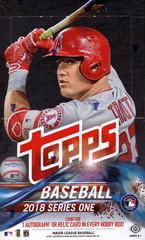 2018 Topps Series 1 MLB Baseball Hobby Box