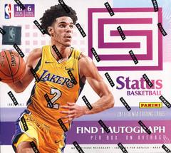 2017-18 Panini Status NBA Basketball Hobby Box
