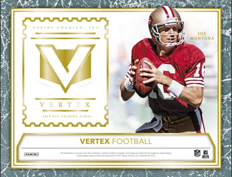 2017 Panini Vertex NFL Football Hobby Box