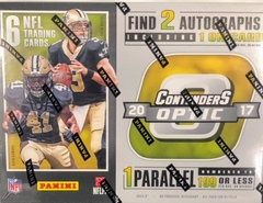 2017 Panini Contenders Optic NFL Football Hobby Box