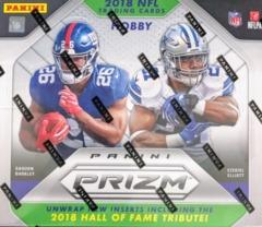 2018 Panini Prizm NFL Football Hobby Box