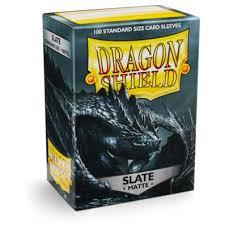Dragon Shield Sleeves: Matte Slate (Box Of 100)