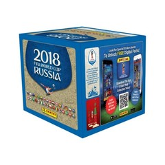 2018 Panini FIFA World Cup Russia Stickers Box (50 packs)