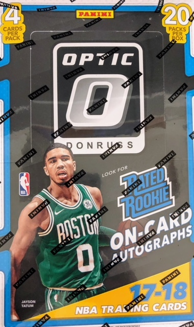2017-18 Panini Donruss Optic NBA Basketball Hobby Box