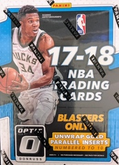 2017-18 Panini Donruss Optic NBA Basketball Blaster Box