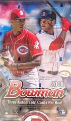 2018 Bowman MLB Baseball Jumbo Box