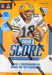2018 Score NFL Football Blaster Box