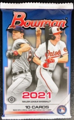 2021 Bowman MLB Baseball Hobby Pack