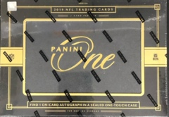 2019 Panini One NFL Football Hobby Box
