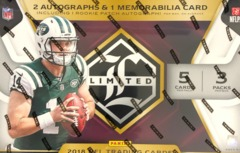 2018 Panini Limited NFL Football Hobby Box