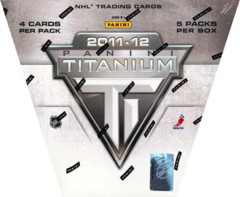 2011-12 Panini Titanium NHL Hockey Box