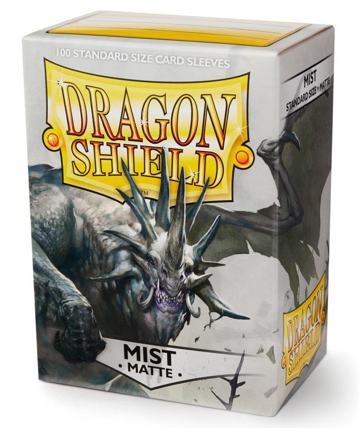 Dragon Shield Sleeves: Matte Mist (Box Of 100)