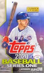 2020 Topps MLB Baseball Series 1 Hobby Box