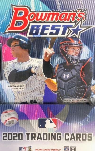2020 Bowmans Best MLB Baseball Hobby Box