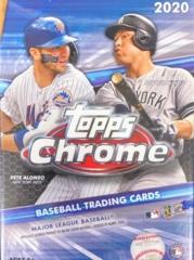 2020 Topps Chrome MLB Baseball Blaster Box