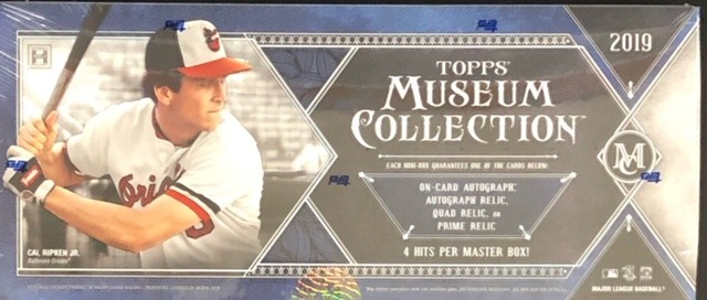 2019 Topps Museum Collection MLB Baseball Hobby Box