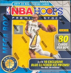 2019-20 Panini Hoops Premium Stock NBA Basketball Mega Box