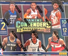 2019-20 Panini Contenders NBA Basketball Hobby Box