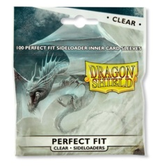 Dragon Shield Perfect Fit SIDE LOAD (100ct) - Clear