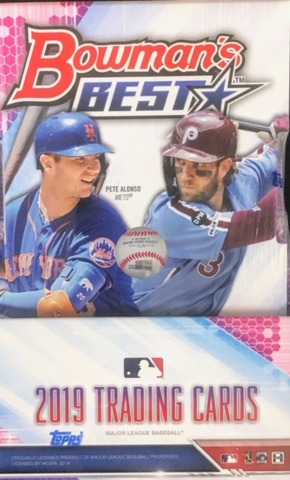 2019 Bowmans Best MLB Baseball Hobby Box